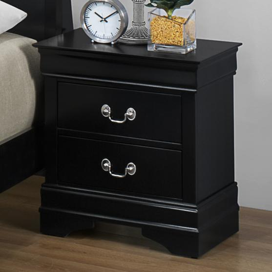 Crown Mark Louis Phillipe Nightstand - Item Number: B3900-2