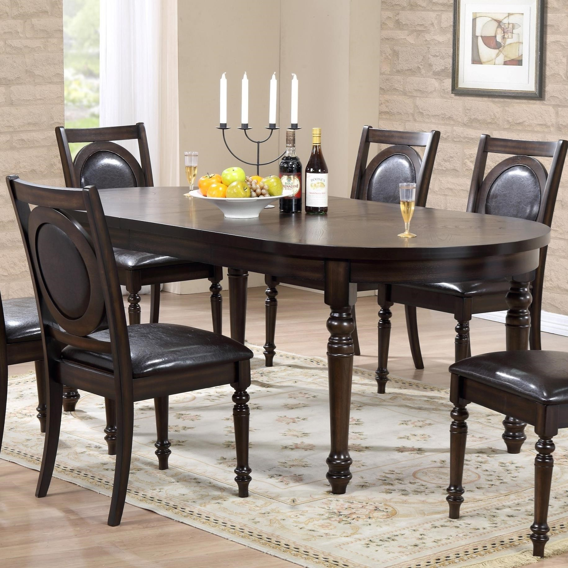 Crown Mark Lyla Dining Table - Item Number: 2331T-4284