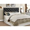 Crown Mark Mackenzie Full/Queen Upholstered Headboard - Item Number: 5288BK-FQ-HB