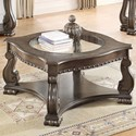 Crown Mark Madison Coffee Table - Item Number: 4320GY-04