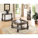 Crown Mark Madison Occasional Table Group - Item Number: SETC4320GY