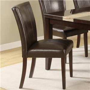 Crown Mark Madrid & Ferrara Upholstered Side Chair