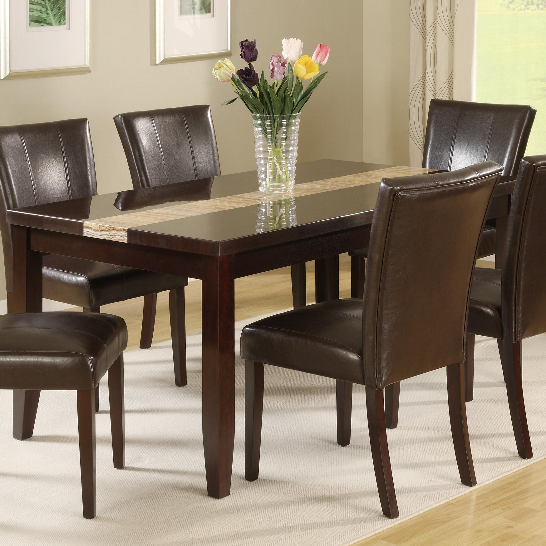 Crown Mark Madrid & Ferrara Dining Table - Item Number: 2223T-3864