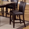 Crown Mark Madrid & Ferrara Upholstered Counter Height Chair - Item Number: 2723S-24