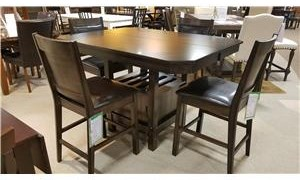 Crown Mark Marlow 5-Piece Counter Height Dining Set