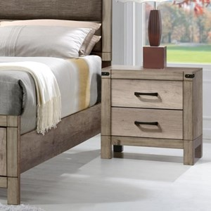 Crown Mark Matteo Night Stand