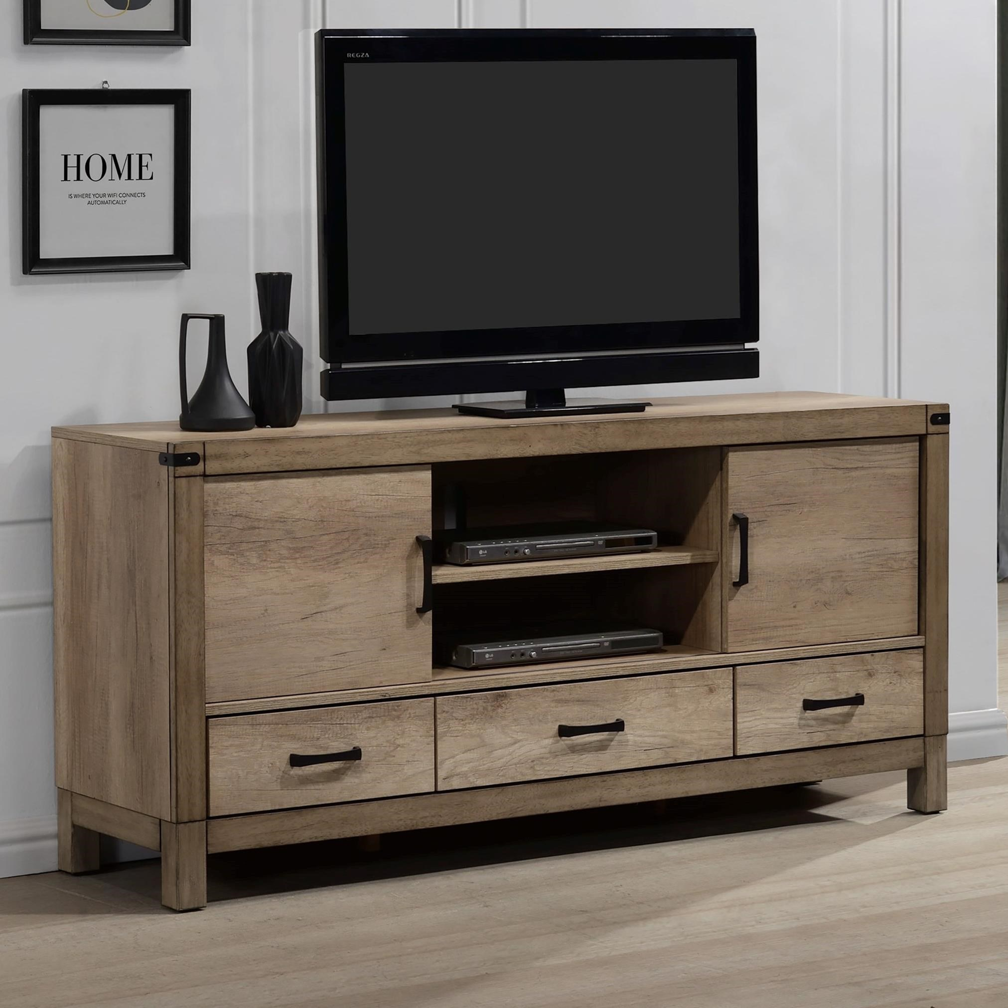Matteo TV Stand by Crown Mark Furniture at Del Sol Furniture