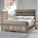 CM Matteo Full Low Profile Bed - Item Number: B3200-F-HBFB+B3200-FT-RAIL