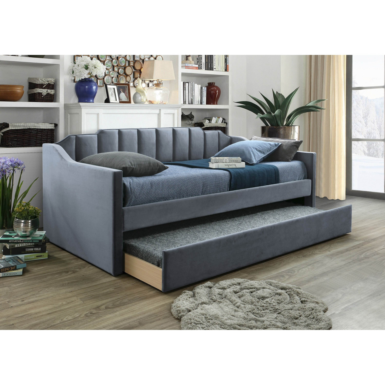 Menken Upholstered Daybed by Crown Mark at Bullard Furniture