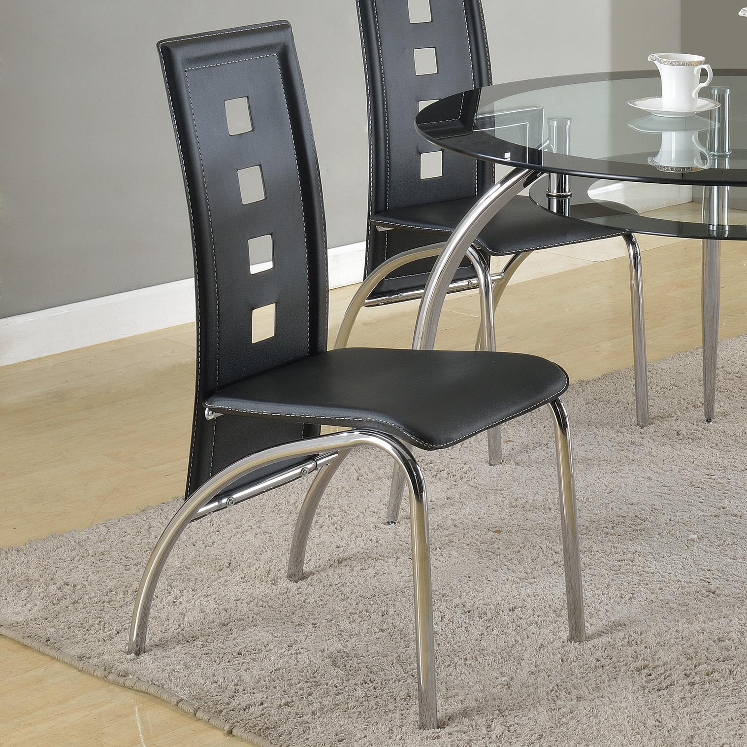 Crown Mark Mila Side Chair - Item Number: 1270S