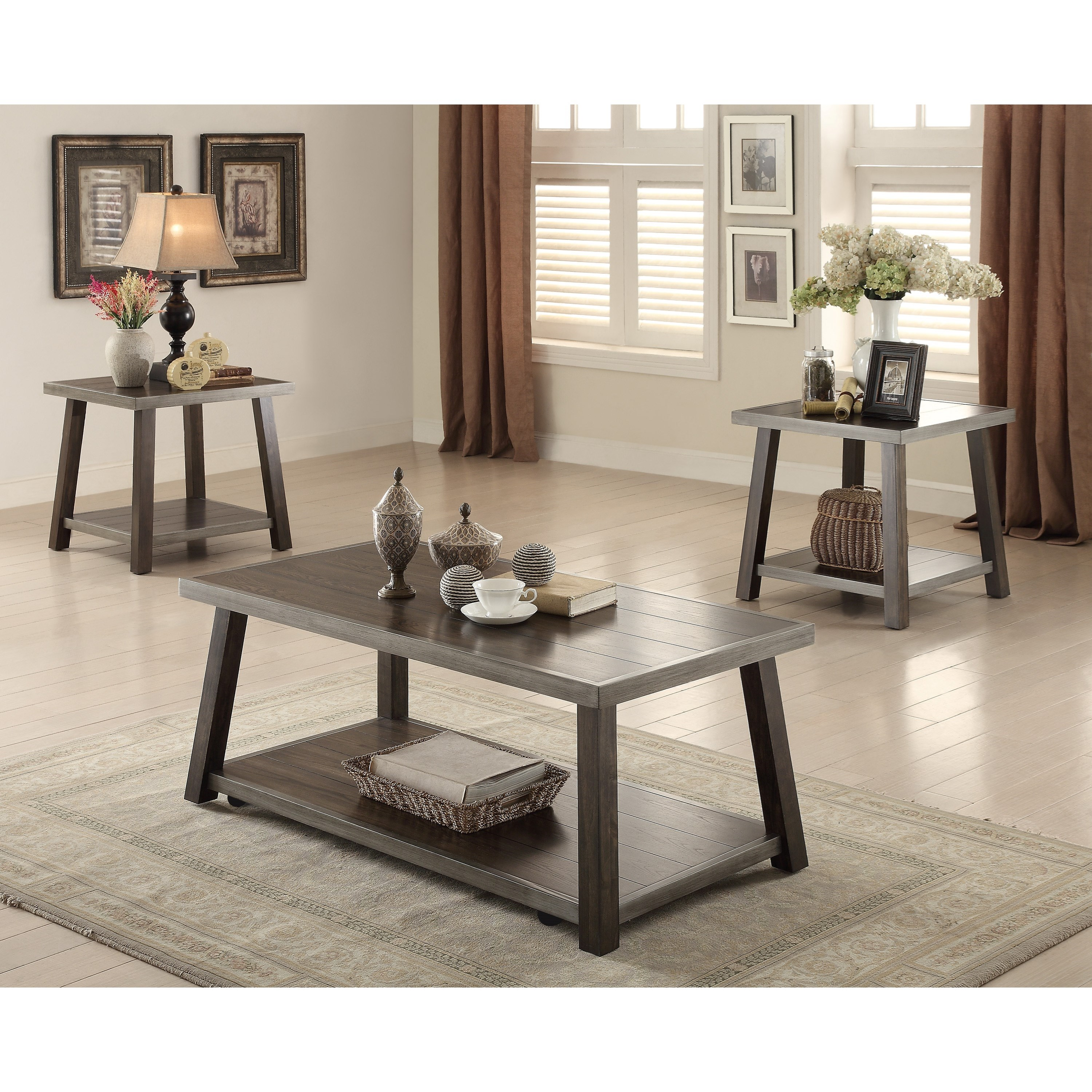 Crown Mark Miles Occasional Occasional Table Group - Item Number: 4243SET