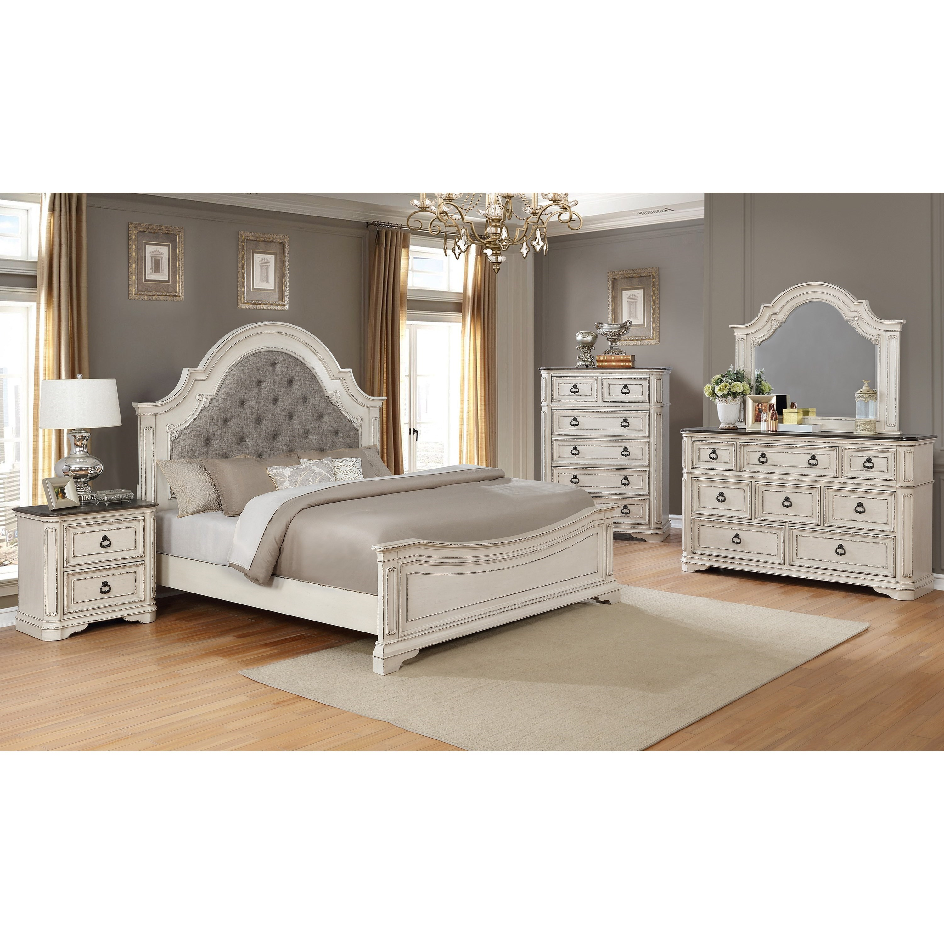 Crown Mark Mill Creek King Bedroom Group Collection