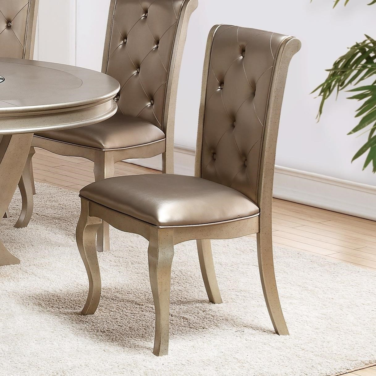 Crown Mark Mina Side Chair - Item Number: 2166S