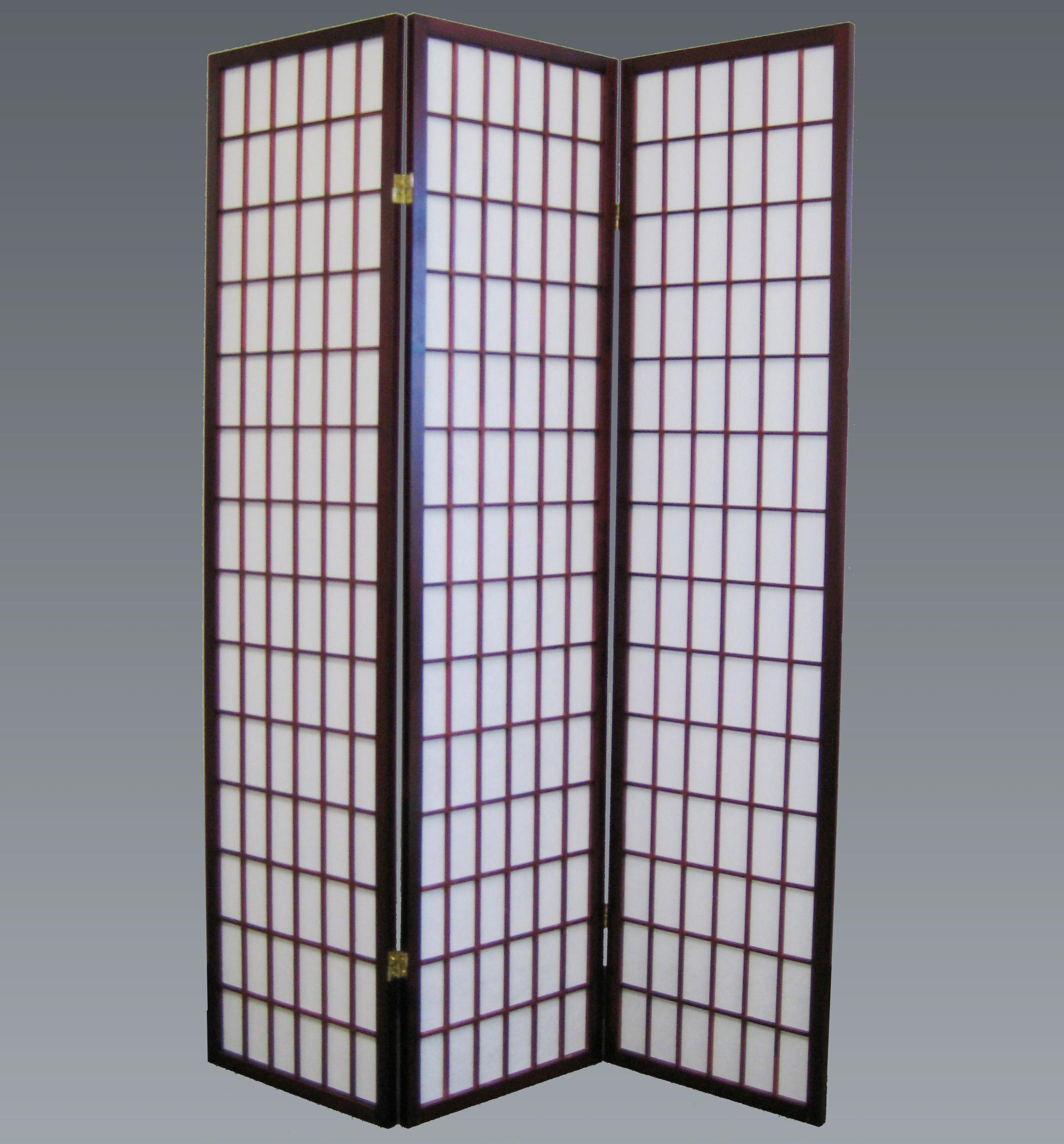 Crown Mark Miscellaneous 3 Panel Wood Screen - Item Number: 2003CH