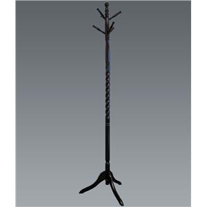 Crown Mark Miscellaneous Cherry Twist Hall Tree
