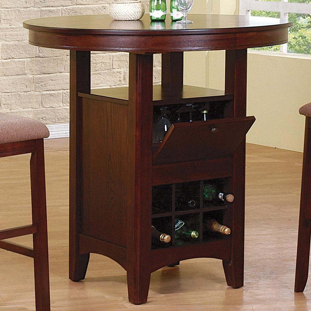 Crown Mark Miyagi Bar Table - Item Number: 2944T-ESP-LEG+TOP