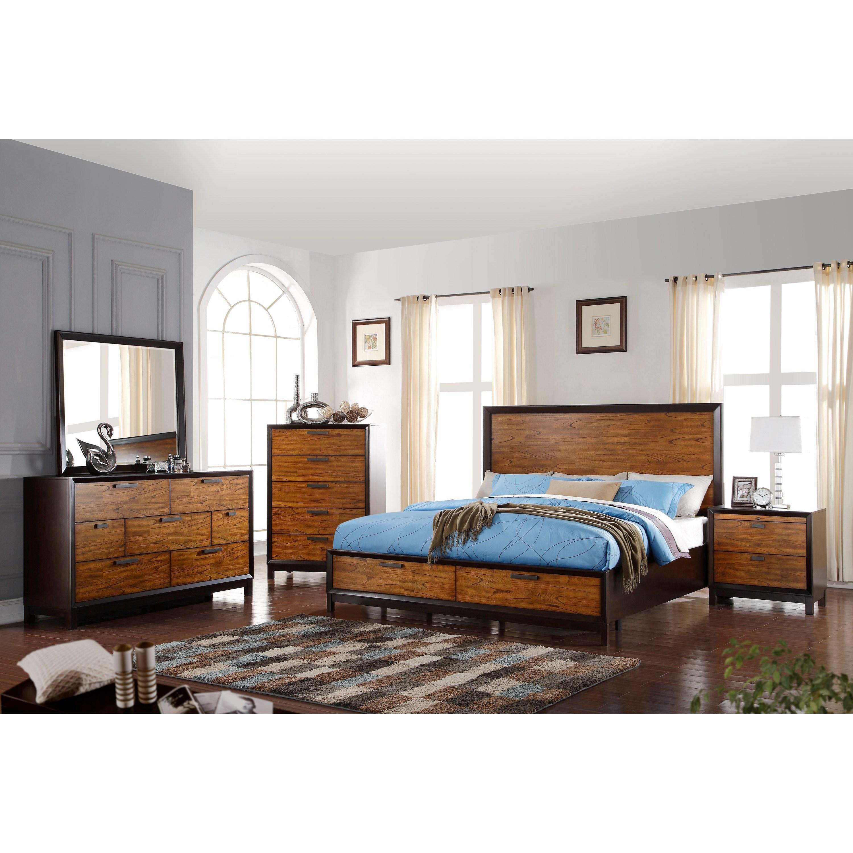 Crown Mark Mumford King Bedroom Group - Item Number: B1800 K Bedroom Group 1