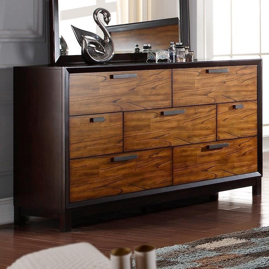 Crown Mark Mumford Dresser - Item Number: B1800-1