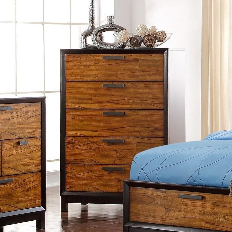 Crown Mark Mumford Chest of Drawers - Item Number: B1800-4