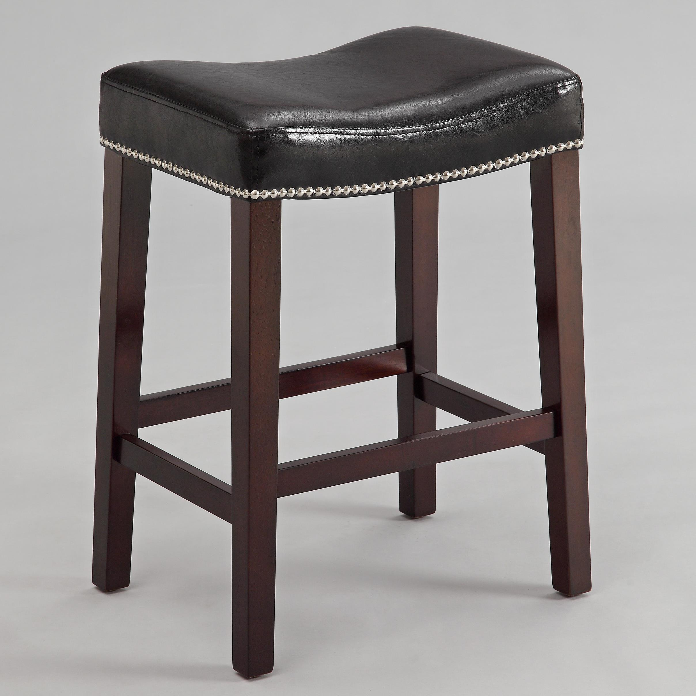 Crown Mark Nadia Saddle Stool - Item Number: 2791C-24-BK