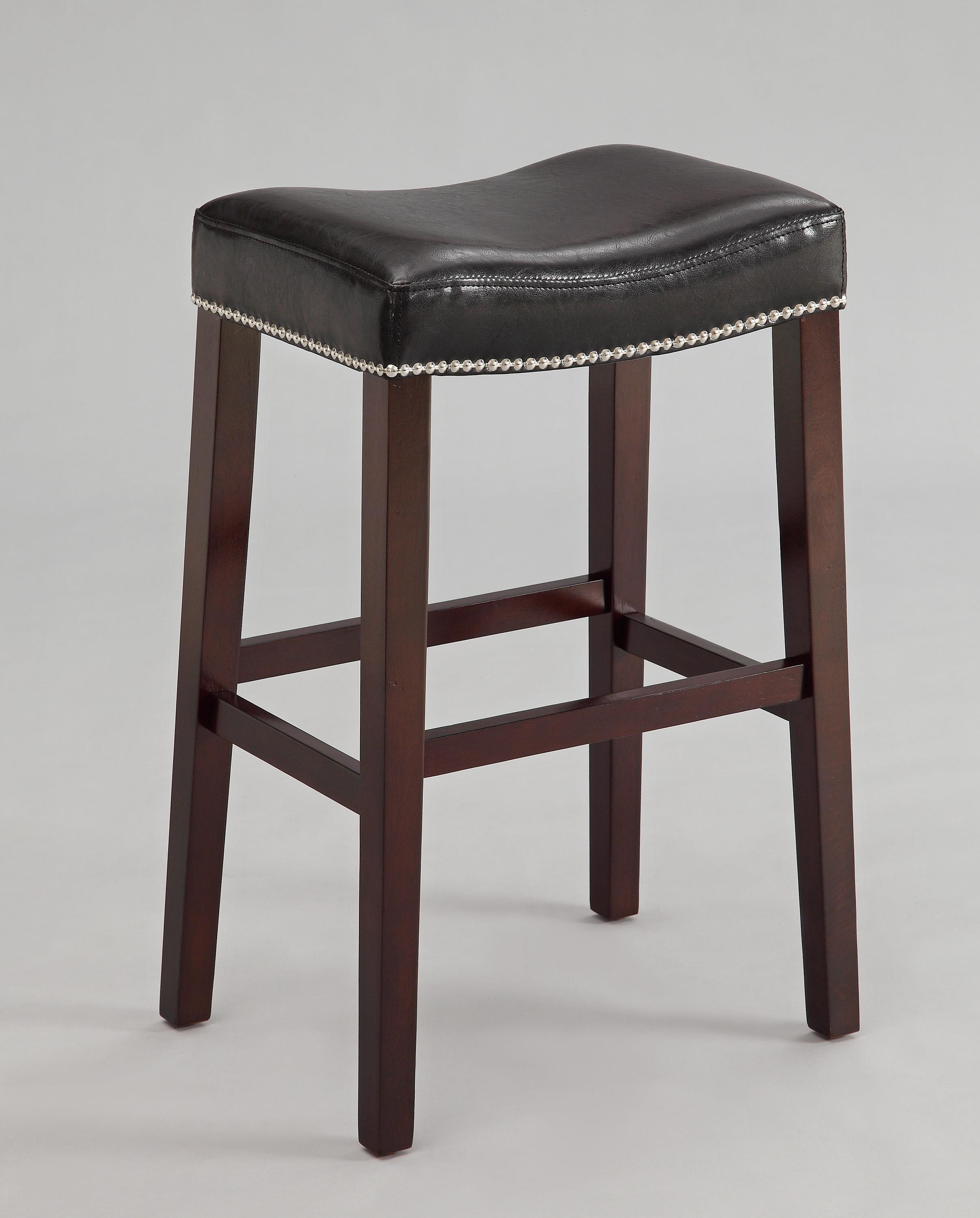 Crown Mark Nadia Saddle Stool - Item Number: 2991C-29-BK