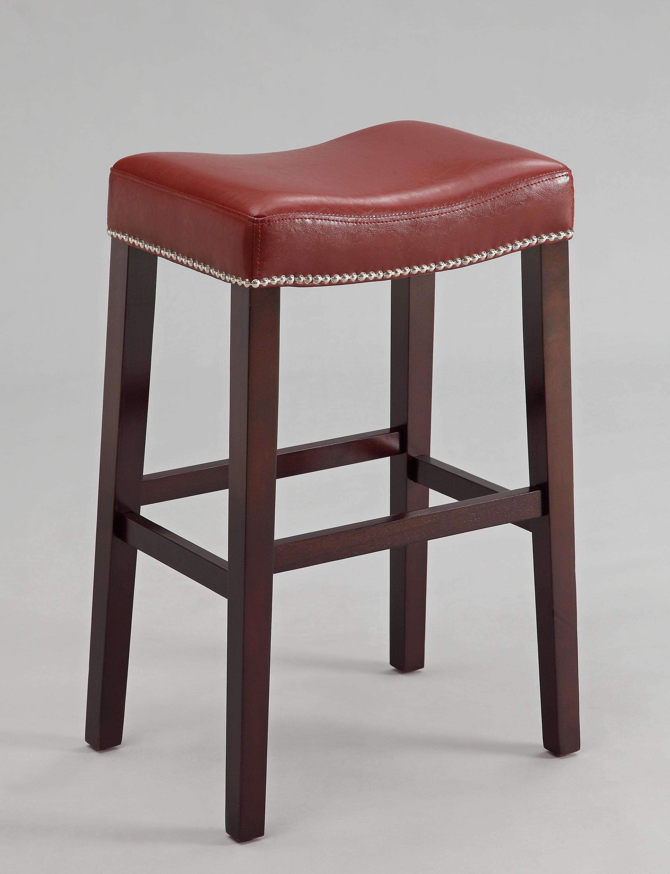 Crown Mark Nadia Saddle Stool - Item Number: 2991C-29-RD