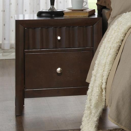 Crown Mark Nadine Nightstand - Item Number: B4900-2