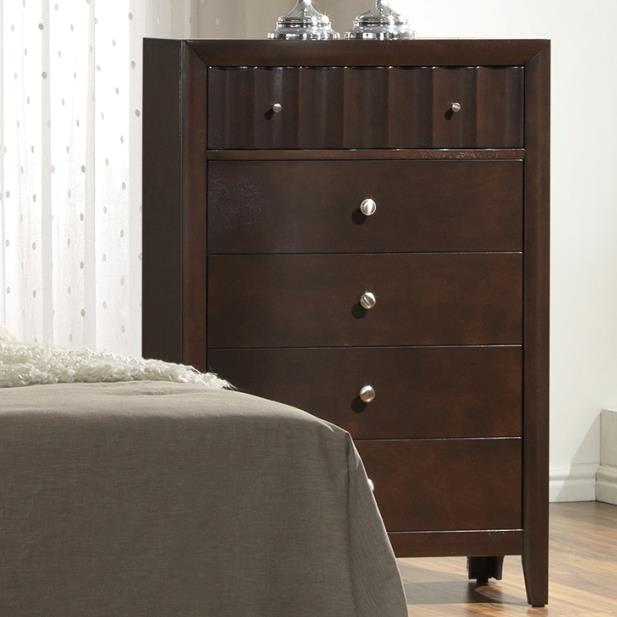 Crown Mark Nadine Chest of Drawers - Item Number: B4900-4