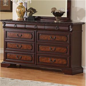 Crown Mark Neo Renaissance Dresser