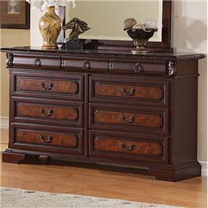 Crown Mark Neo Renaissance Dresser