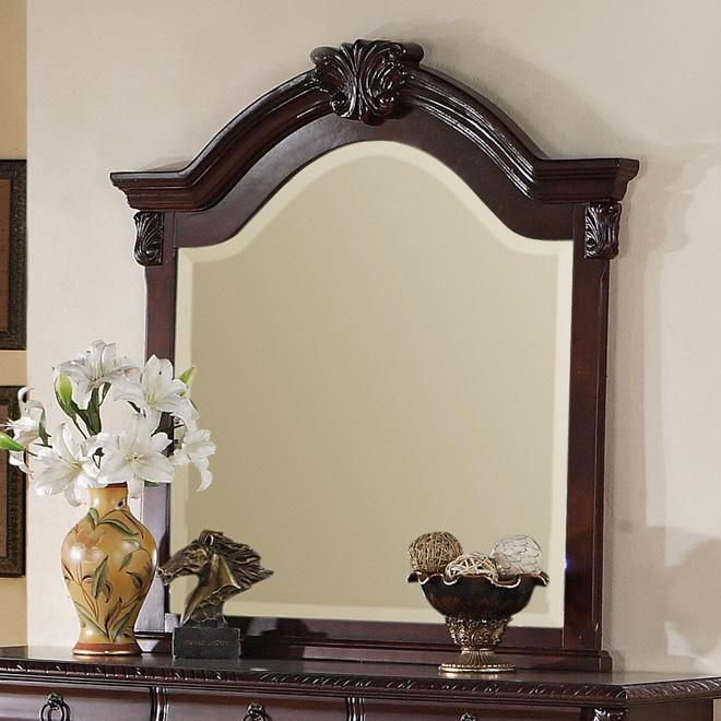 Crown Mark Neo Renaissance Dresser Top Mirror - Item Number: B1470-11