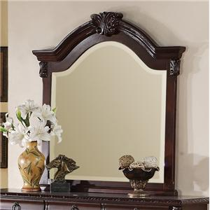 Crown Mark Neo Renaissance Dresser Top Mirror