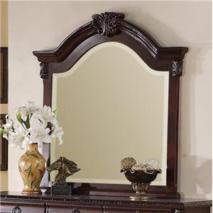 Crown Mark Neo Renaissance Dresser Top Mirror