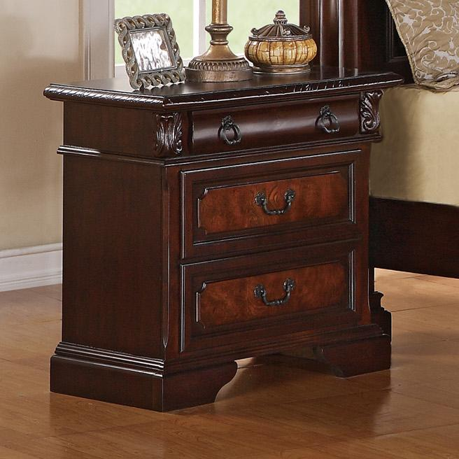 Crown Mark Neo Renaissance Nightstand - Item Number: B1470-2