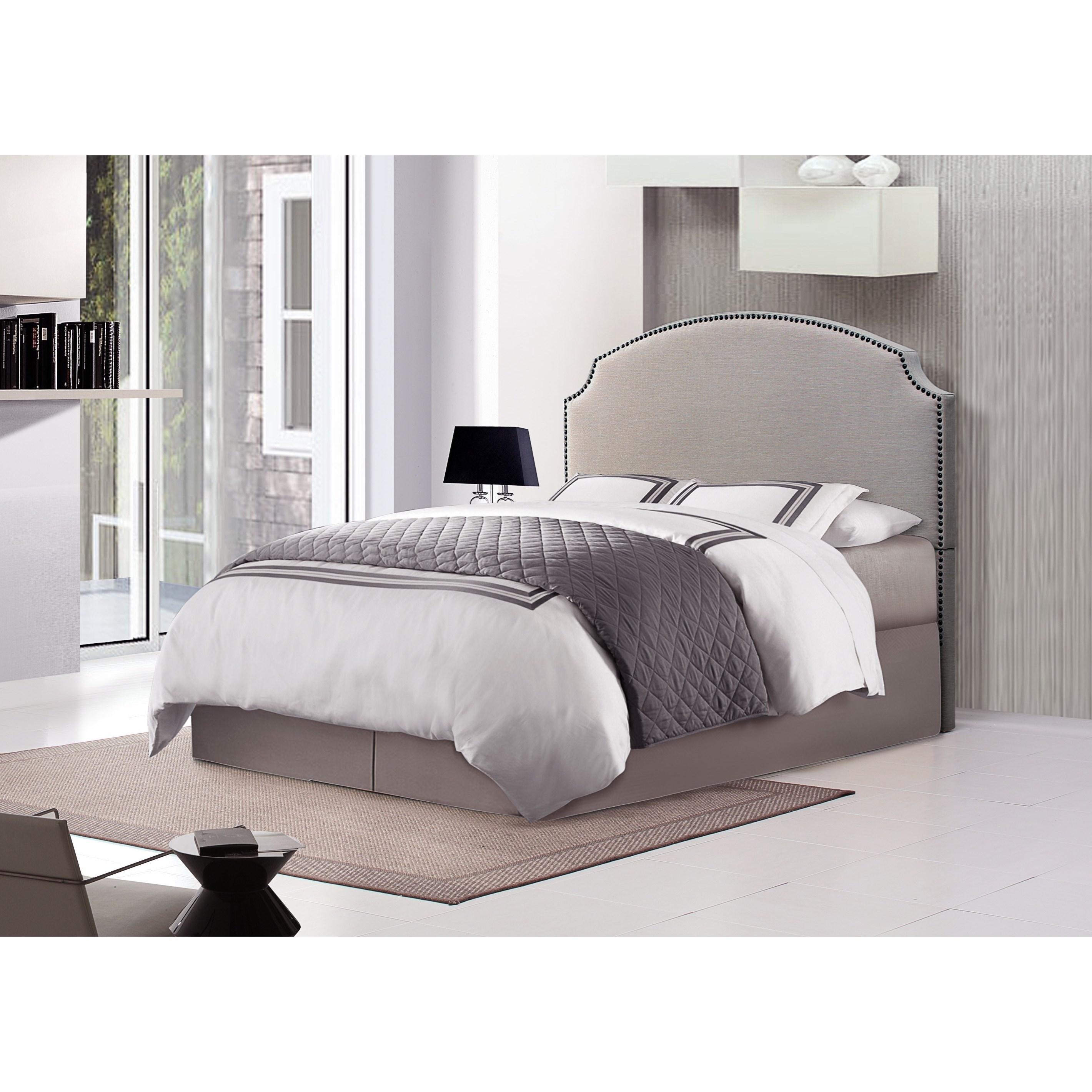 Crown Mark Odette Queen Upholstered Bed - Item Number: 5273-Q-HB+FBRL