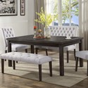 Crown Mark Palmer Dining Dining Table - Item Number: 2022T-4072