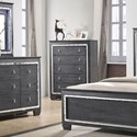 Crown Mark Perina Chest - Item Number: B7000-4
