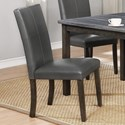 Crown Mark Pompei Dining Side Chair - Item Number: 2377GY-S
