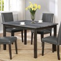 Crown Mark Pompei Dining Table Grey - Item Number: 2377GY-T-3648