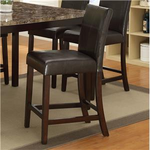 Crown Mark Pompei  Counter Height Chair
