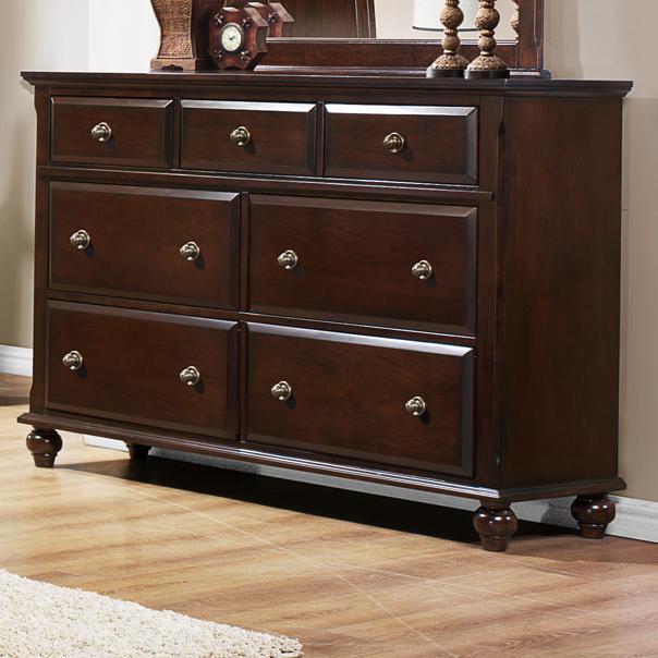 Crown Mark Portsmouth B6075 Dresser - Item Number: B6075-1