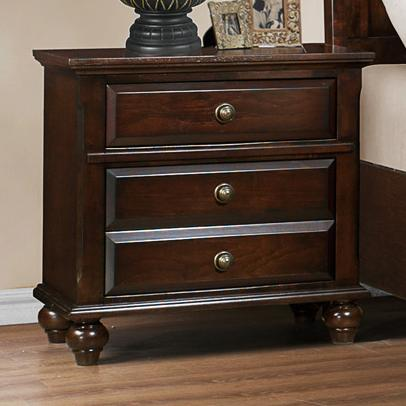 Crown Mark Portsmouth B6075 Night Stand - Item Number: B6075-2