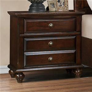 Crown Mark Portsmouth B6075 Night Stand