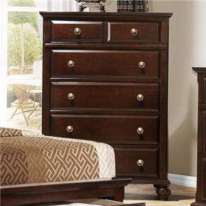 Crown Mark Portsmouth B6075 Chest