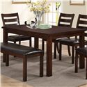 Crown Mark Quinn Dining Table - Item Number: 2164T-3864