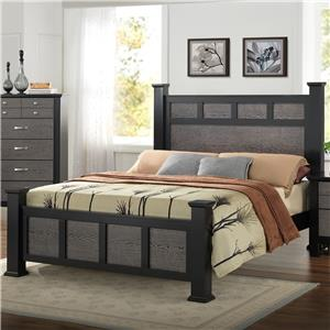 Crown Mark Reagan Queen Bed