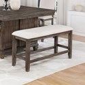 Crown Mark Regent Counter Height Dining Bench - Item Number: 2772-BENCH