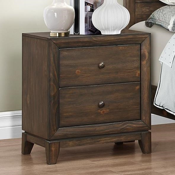 Crown Mark Rhone Nightstand - Item Number: B8700-2