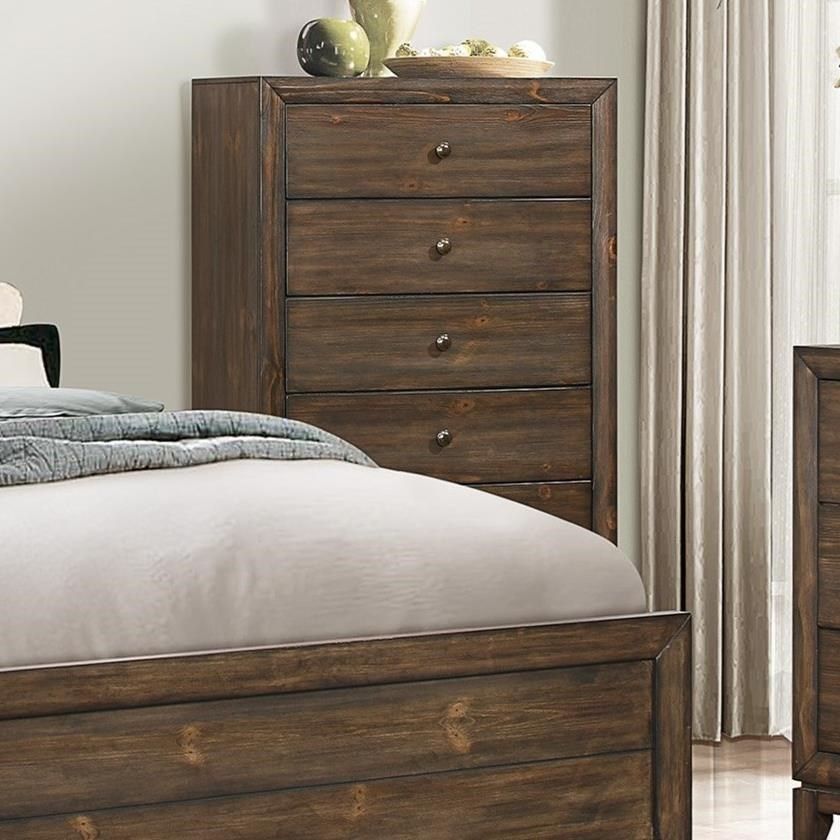 Crown Mark Rhone Chest of Drawers - Item Number: B8700-4