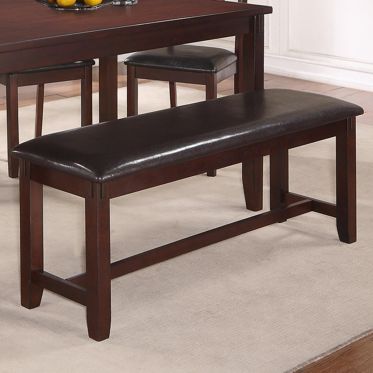 Crown Mark Clara Dining Bench - Item Number: 2321-Bench
